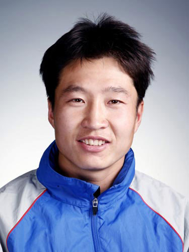 图文-北京奥运会中国代表团成立 男曲队员孟军