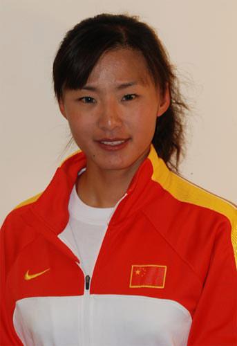 图文-北京奥运会中国代表团成立自行车队员高敏