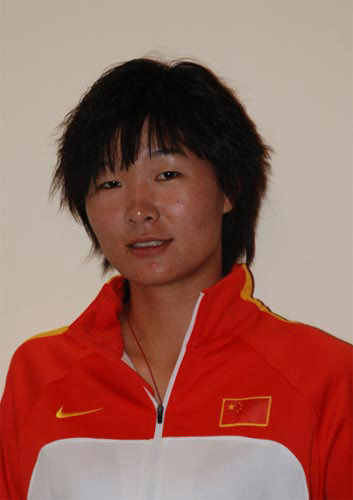 图文-北京奥运会中国代表团成立 自行车队员孟浪