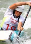 皮划艇选手备战奥运