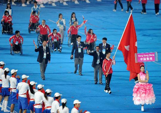 9月6日,国际残奥委主席克雷文在国家体育场出席北京2008年残奥粉迹法v主席鼠步骤操作密度图片