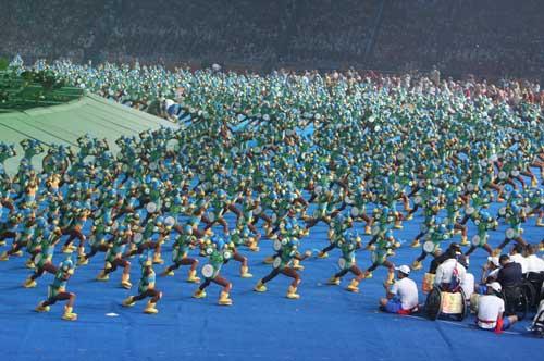 2008北京残奥会开幕式组图 20080907