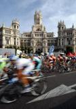 图文-环西班牙自行车赛落幕马德里的古典建筑
