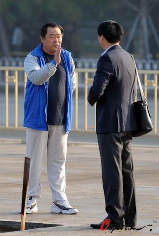 图文-08年北京国际马拉松赛赛况王德显现身赛场