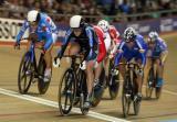 图文-场地自行车世界杯第三日一路领先脱颖而出