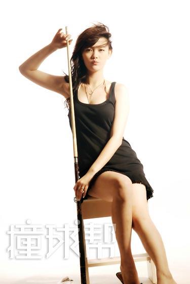 图文-《撞球帮》台球宝贝文文潘晓婷也不及她