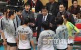 图文-女排联赛天津第六次夺冠上海女排遗憾失利