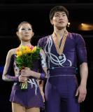 图文-花滑世锦赛双人自由滑丹昊组合冲击冠军失利