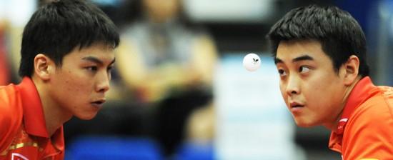 文-世乒赛男双冠军王皓/陈对眼一晋级起来_韩国首轮健美李妍图片