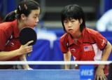 图文-美国华裔新星闪耀世乒赛张安邢延华出战首轮