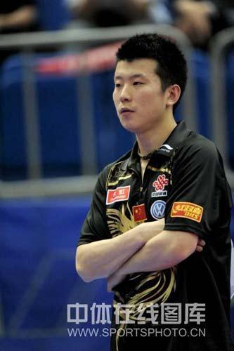 图文-世乒赛男单张超出局这个舞台不再属于自己