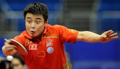 图文-世乒赛男单16强激战王皓彰显头号种子本色