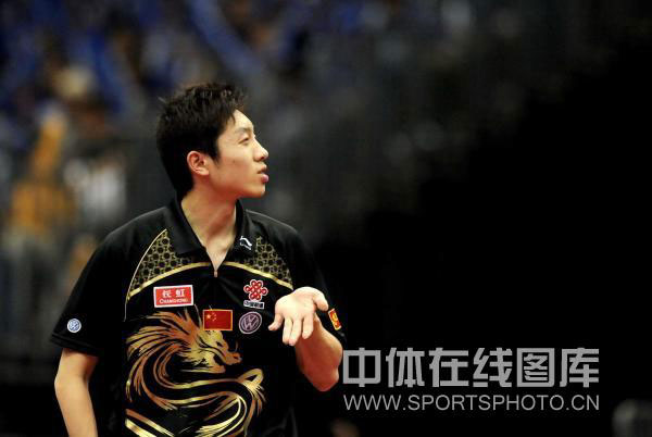 图文-世乒赛男双八强出炉许昕这是什么表情?