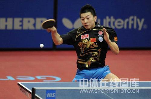 图文-世乒赛男单半决赛激战马龙还是缺在经验上
