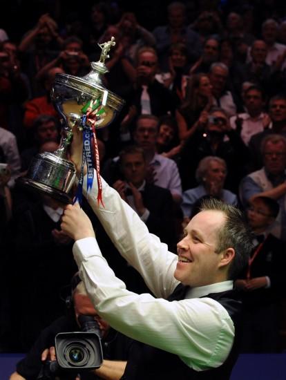 图文-世锦赛希金斯第3次夺冠他就是这里的主人