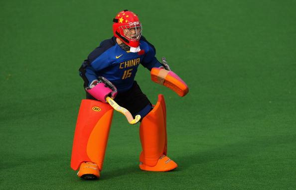 图文-女曲冠军杯中国0比1荷兰张益萌严阵以待