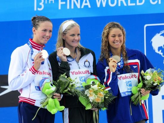 图文-世锦赛女子200米仰泳决赛考文垂力压两劲敌