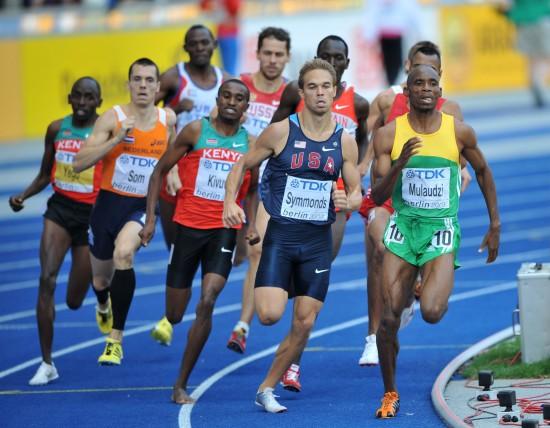 图文-田径世锦赛男子800米决赛穆劳德兹一马当先