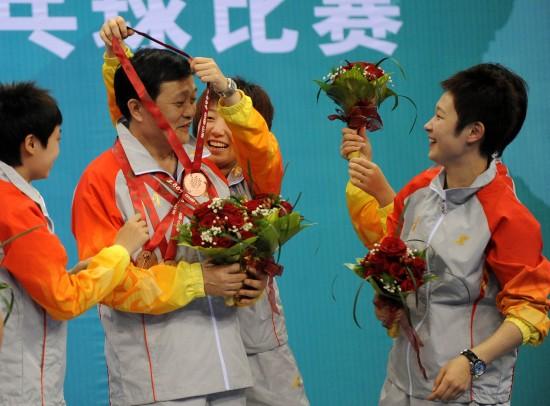 拳击-全运乒乓球女团辽宁获图文季军报名教献给鲜花v拳击图片