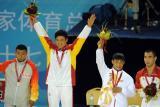 古典跤74公斤级常永祥夺金