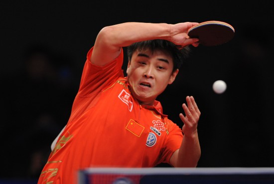 世界-图文乒乓球总冠军赛王皓被删除王皓抽球淘汰瓶如何漂流图片
