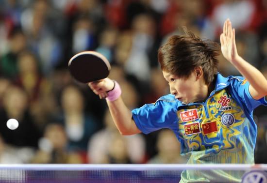 图文-[精英赛]刘诗雯夺女单冠军不给对手机会