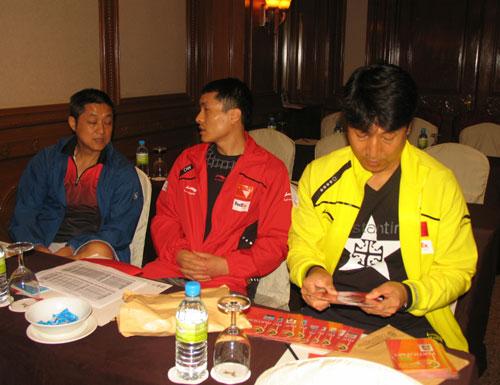 图文-汤尤杯羽球赛领队会议召开钟波和李卫国