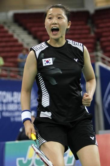 图文-尤伯杯决赛中国VS韩国每一分都势在必争