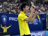 ―汤姆斯杯决赛:中国豪取四连冠