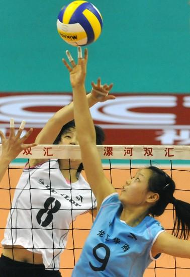 图文-全国女排锦标赛26日赛况上海队力克武汉