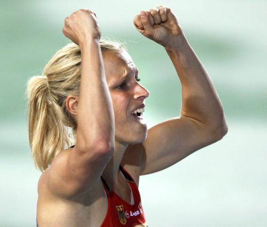图文-田径欧锦赛第三日赛况塞勒称雄女子百米