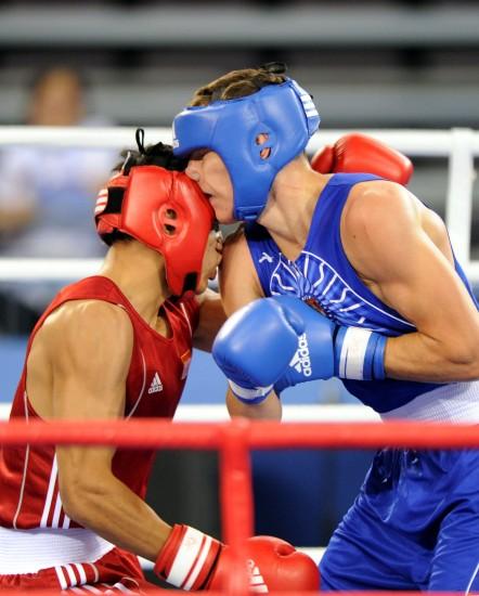 图文-[武搏会]孟繁龙获81公斤级冠军近距离搏击