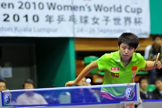 图文-女乒世界杯首轮战况郭跃准备好发动反攻