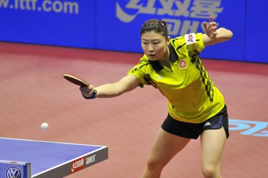 图文-女乒世界杯郭焱夺冠郭跃第三有如六脉神剑