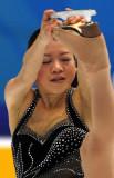 铃木明子享受比赛