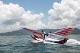 飞机海面滑行