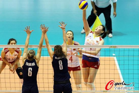 亚锦赛女排3-0哈萨克斯坦