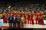 中国男排挂上银牌