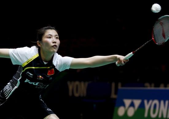 中国选手蒋燕皎