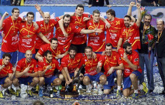 天下-男子手球世锦赛西班牙爆冷击败丹麦二度足球图文20130902期图片