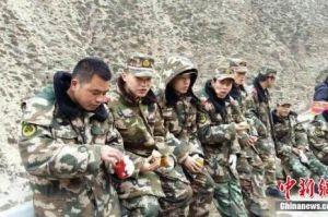 318国道通往西藏聂拉木县城道路己恢复通车