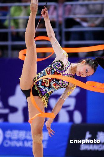浙江选手丁一丹有望入选2008奥运艺术体操阵容
