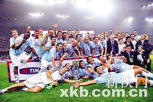 拉齐奥2∶1战胜国际米兰鸟巢上捧意大利超级杯