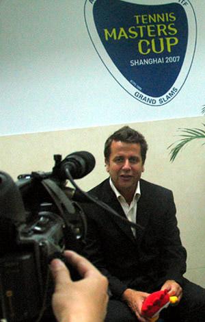 专访ATP执行副总裁:07大师杯是史上最成功一届