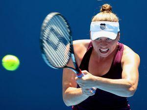 澳网兹娃完胜捷克美女晋级八强将战斯托瑟终结者
