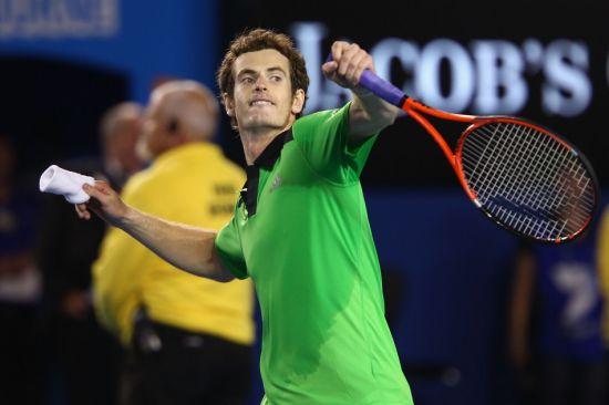 穆雷连续第二年杀进澳网男单决赛