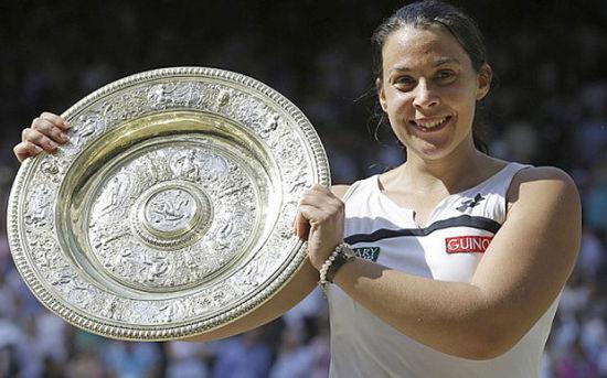 2013年巴托丽赢得温网冠军