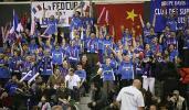 图文-联杯首日中国队2-0领先法国法国球迷也疯狂