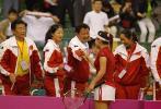 图文-联杯半决赛中国vs西班牙她们谁笑得最欢