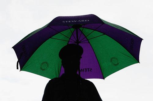图文-温网女单半决赛郑洁迎战小威下雨影响广泛